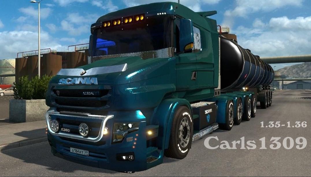 Scania Bonnet Style 6