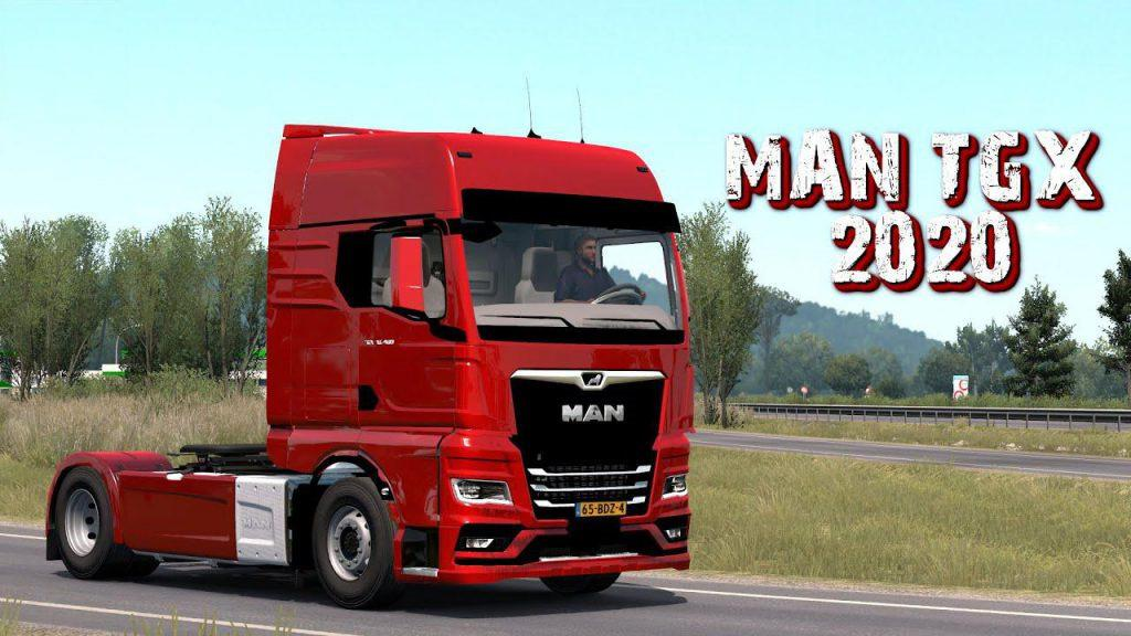 GREAT MOD ON TRAFFIC 1.23.XX For ETS 2 - Euro Truck